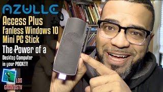 Download Azulle Access Plus HDMI Mini Windows 10 PC Stick 💻 : LGTV Review Video