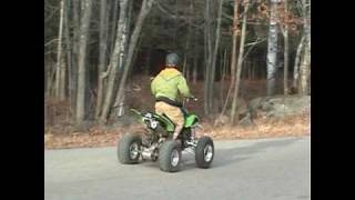 Download How to Pop a Wheelie on a 400ex Video