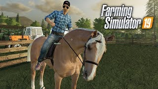Download Farming Simulator 19 | DOMANDO CAVALOS! #14 Video