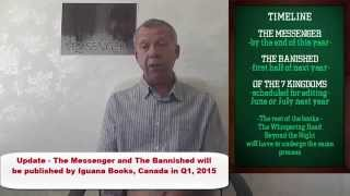 Download Epic Fantasy Fiction for Adults PAUL COEY - Writing Adult Fantasy Books - The Messenger Video