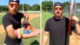 Download I Corked A Baseball Bat With Bouncy Balls! Video