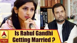 Download Is Rahul Gandhi Getting Married? HERE IS THE TRUTH | ABP News Video
