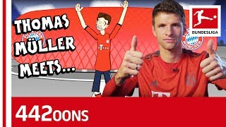 Download Thomas Müller Meets Thomas Müller - Powered By 442oons Video