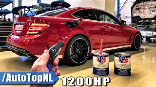 Download 1200HP Mercedes C63 AMG BLACK SERIES REVIEW POV on AUTOBAHN by AutoTopNL Video