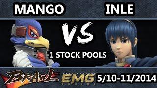 Download GOML - C9 | Mango (Falco) Vs. Inle (Marth) SSBB 1 Stock Pools - Super Smash Bros. Brawl Video