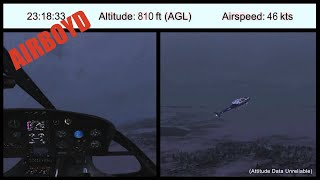 Download Alaska Public Safety Helicopter Accident NTSB Animation Video