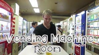 Download Vending Machine Room In Tokyo | Japan Video