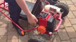 Download How To: Start A 2 Stroke Go Kart Video