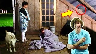 Download Loser Sleeps In The Barn! Video