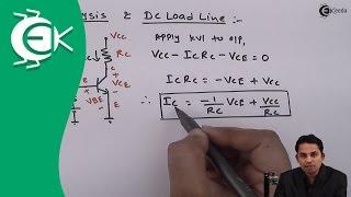 Download DC Analysis and DC Load Line - Bipolar Junction Transistor - Analog Electronics Video
