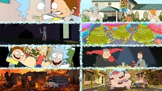 Download Rick and Morty Season 1 - All After Credits Scenes Video