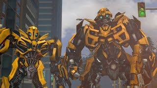 Download Transformers Bumblebee Compilation of Animations Video