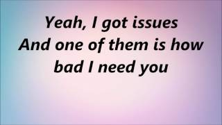 Download Julia Michaels - Issues (Lyrics) Video