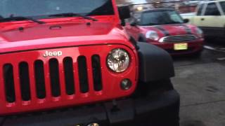 Download Jeep Wrangler stock height with ko2 33s (no lift) 17″ wheels Video