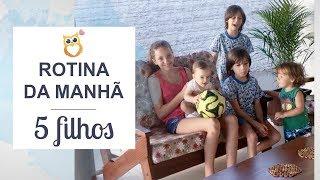 Download Rotina da manhã com 5 filhos nas férias | Rotina bagunçada | Juliana Doerner Video