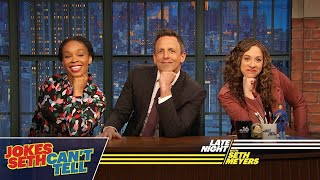 Download Jokes Seth Can't Tell: African-Americans and Trump, Women's History Month Video