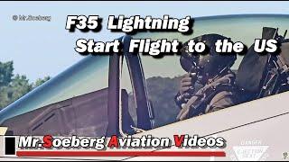 Download F35 LIGHTNING, F-008, Neth.AF, DEPARTURE Volkel to US Video