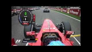 Download Salida de Fernando Alonso en Spa 2013 Video
