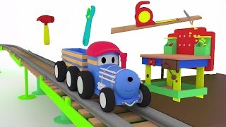 Download The Workbench - Learn tool names with Ted The Train | Educational cartoon for children & toddlers Video