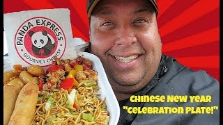 Download PANDA EXPRESS® Chinese New Year ″Celebration Plate″ Review! Video