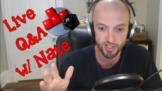Download Live Hangout with Nate - Q&A, mapping, & thanks for 5K subs! Video