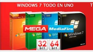 Download Windows 7 SP1 UEFI Todo en Uno Actualizado a Mayo 2019 USB 3.0 en 1 Link Google Drive MediaFire Mega Video