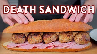 Download Binging with Babish 4 Million Subscriber Special: Death Sandwich from Regular Show Video