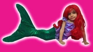Download Disney Frozen Elsa MERMAID Videos In Real Life + Swimming Tail +Ariel Mermaid + TREASURE HUNT + Toys Video