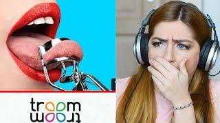 Download TROOM TROOM è il PEGGIOR CANALE del mondo? Reaction pazzesca hacks! Peggio di five minutes craft! Video