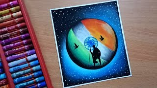 Republic Day drawing ! Independence Day | Beginners and Kids Oil