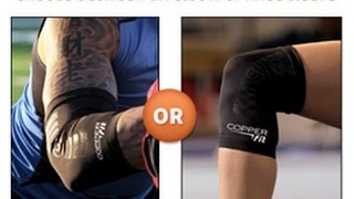 Download Copper Fit Compression Elbow and Knee Sleeves As Seen On TV | Copper Fit As Seen On TV Commercial Video