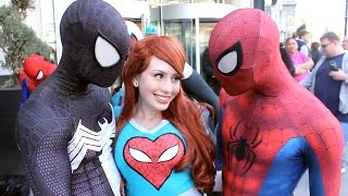 Download Spider-Man: Spider-Verse Flash Mob Prank Video
