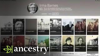 Download Introducing the New Ancestry Website Video