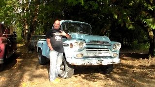 Download 1959 Chevy Napco 4X4 Pickup Video