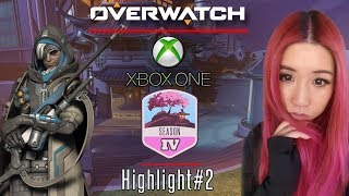 Download PC player plays on Console Livestream Highlight #2 | Overwatch Xbox One Gameplay Video