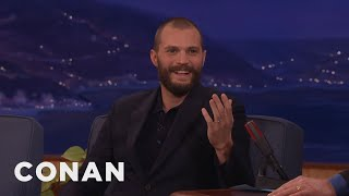 Download Jamie Dornan Puts On An American Accent At In-N-Out - CONAN on TBS Video
