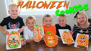 Download GIANT HALLOWEEN PUMPKIN COOKIES Video