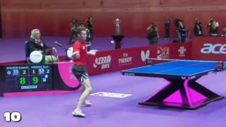 Download Top 10 Table Tennis Rallies 2016 Video