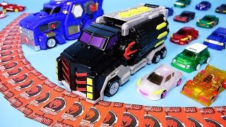 Download 터닝메카드 메가스파이더 MeCard 파워레인저 다이노포스 헬로카봇 장난감 동영상 Turning MeCard Mega Spider car toy Video