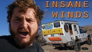 Download EP:09 FREE CAMPING AT JOSHUA TREE NP COME'S WITH A PRICE - GNARLY WIND! Video
