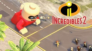 Download LEGO THE INCREDIBLES 2 All Endings - Final Boss & Ending Video