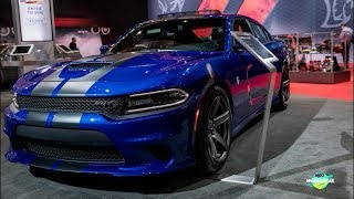 Download 2018 Dodge Charger SRT Hellcat Exterior and interior Walk-around LA Auto Show Video
