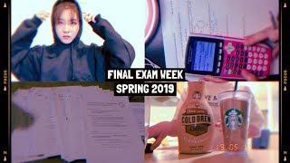 Download finals week study vlog // spring 2019 // pre-med Video
