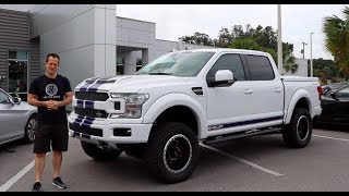 Download Why is the 2018 Shelby F-150 more POWERFUL than a 2019 Raptor? Video