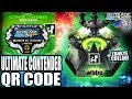 Download QR CODE DO TORNEIO MUNDIAL! ULTIMATE CONTENDER BEYSTADIUM +ZANKYE COLLAB!BEYBLADE BURST APP QR CODES Video