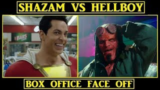 Download SHAZAM vs HELLBOY | BOX OFFICE FACE OFF Video