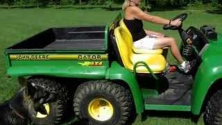 Download 2003 John Deere gator 6X4 Video