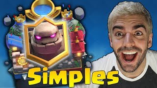 Download DECK SIMPLES DE GOLEM PARA CHEGAR NA ARENA LENDÁRIA DO CLASH ROYALE! Video