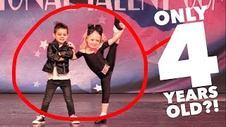 Download 4 YEAR OLDS PERFORMING UNREAL DANCE ROUTINE! AMAZING!! Video