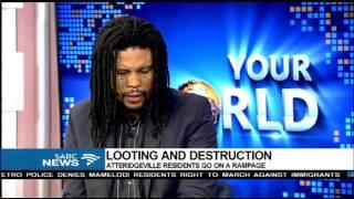 Download HRC condemns violence in Pretoria and Rosettenville Video